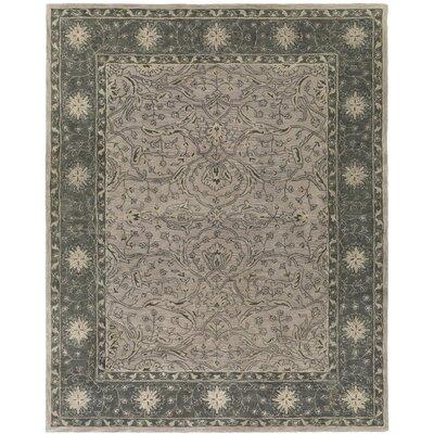 Fulham Hand-Tufted Dark Green/Khaki Area Rug Rug size: Rectangle 8 x 10