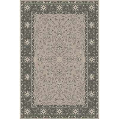 Fulham Hand-Tufted Dark Green/Khaki Area Rug Rug size: 4 x 6