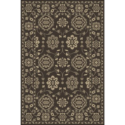 Fulham Hand-Tufted Cream Area Rug Rug size: Rectangle 5 x 76