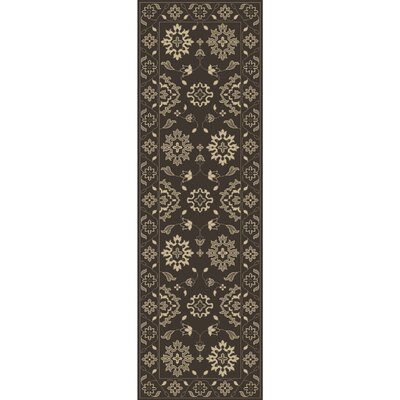 Fulham Hand-Tufted Cream Area Rug Rug size: Runner 26 x 8