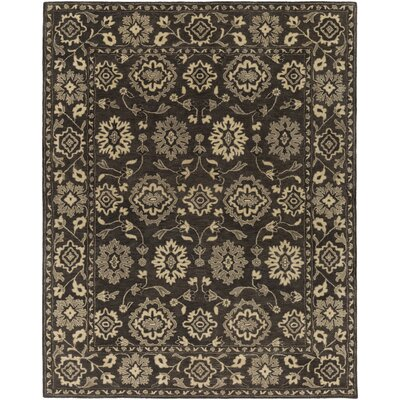 Fulham Hand-Tufted Cream Area Rug Rug size: Rectangle 8 x 10