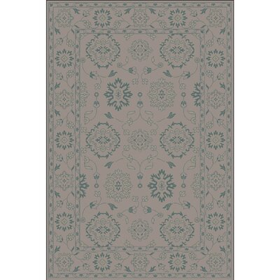 Fulham Hand-Tufted Tan Area Rug Rug size: 5 x 76