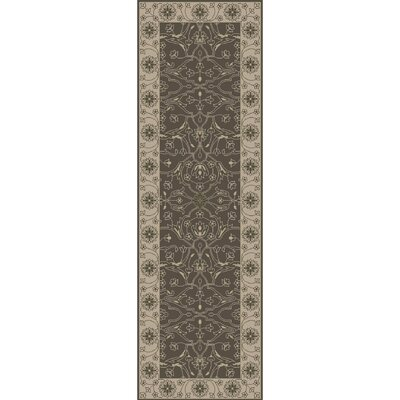 Fulham Hand-Tufted Taupe Area Rug Rug Size: Runner 26 x 8