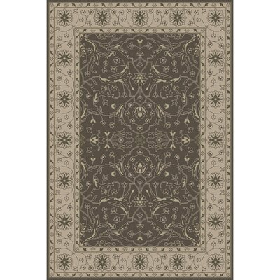 Fulham Hand-Tufted Taupe Area Rug Rug Size: 6 x 9
