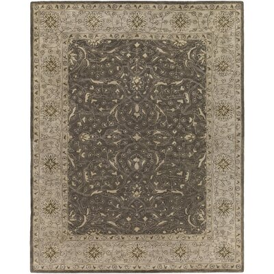 Fulham Hand-Tufted Taupe Area Rug Rug Size: 8 x 10