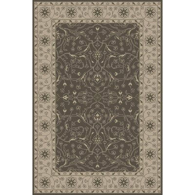 Fulham Hand-Tufted Taupe Area Rug Rug Size: 9 x 13