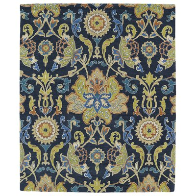 Barkell Blue/Green Area Rug Rug Size: 76 x 9