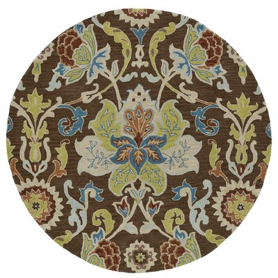 Barkell Hand-Tufted Area Rug Rug Size: Round 11'9