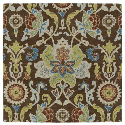Barkell Hand-Tufted Area Rug Rug Size: Square 11'9