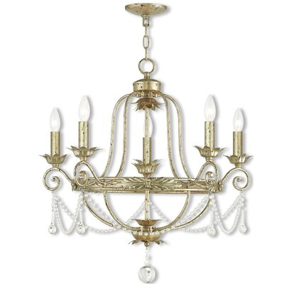Cargan 5-Light Candle-Style Chandelier