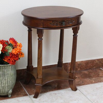 Barron Hand Carved End Table