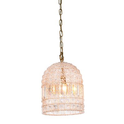 Barnesbury 1 Light Crystal Pendant