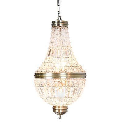 Barkett 5-Light Empire Chandelier