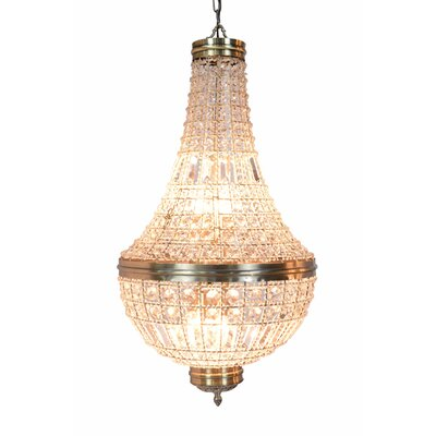 Barkett 6-Light Empire Chandelier