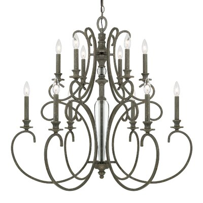 Balster 12-Light Candle-Style Chandelier