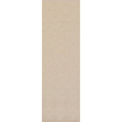 Barret Hand-Woven Taupe/Gray Area Rug Rug Size: Runner 26 x 8