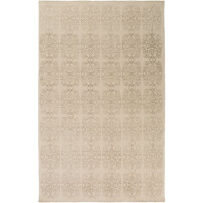 Barret Hand-Woven Neutral Area Rug Rug Size: 6 x 9