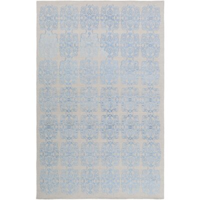 Barren Blue Area Rug Rug Size: Rectangle 6 x 9