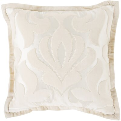 Bayly Throw Pillow Cover Size: 20 H x 20 W x 1 D, Color: PinkNeutral