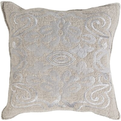 Baston Throw Pillow Cover Size: 18 H x 18 W x 0.25 D