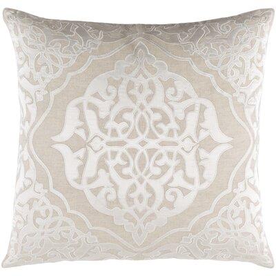 Barrett Pillow Cover Size: 20 H x 20 W x 0.25 D, Color: Neutral