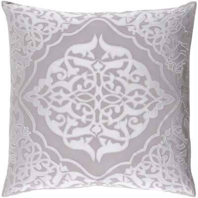 Barrett Pillow Cover Size: 22 H x 22 W x 1 D, Color: Gray
