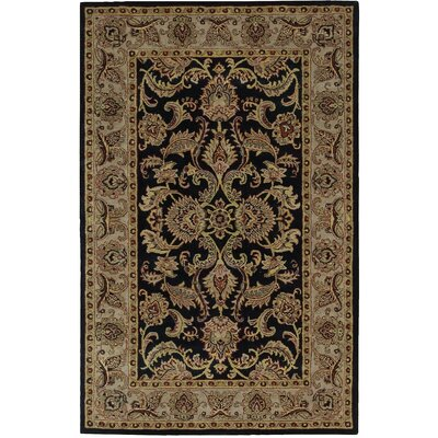 Barrick Black Area Rug
