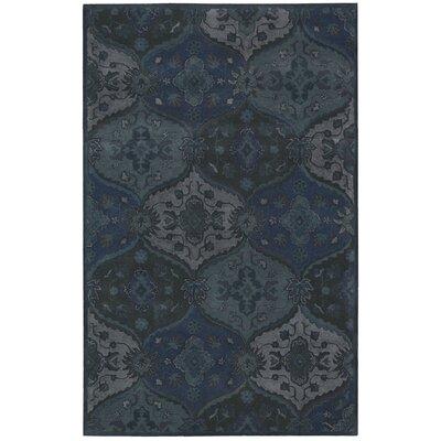 Barrick Handmade Denim Area Rug Rug Size: Rectangle 36 x 56
