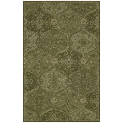 Barrick Hand-Tufted Green Area Rug Rug Size: 8 x 106