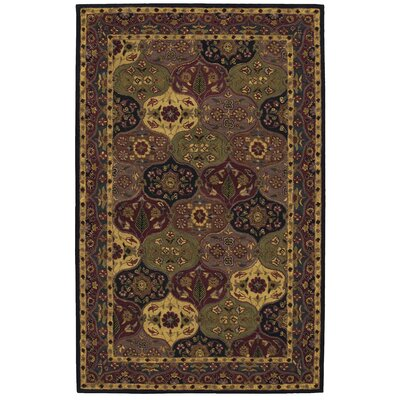 Barrick Handmade Navy Area Rug Rug Size: Rectangle 26 x 4