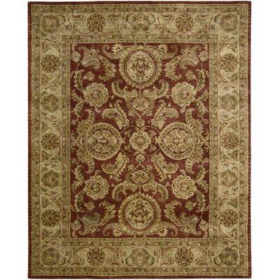 Bassham Cinnamon Rug Rug Size: 83 x 116