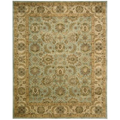 Bassham Seafoam Area Rug Rug Size: Rectangle 96 x 13