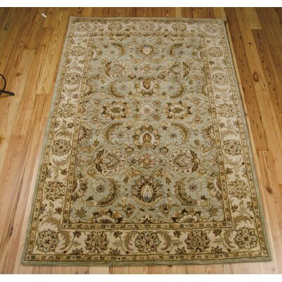 Bassham Seafoam Area Rug Rug Size: Rectangle 56 x 86