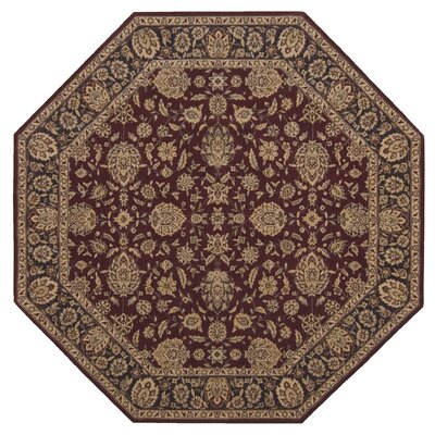 Bascom Wine Area Rug