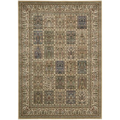 Bayhills Beige/Brown Area Rug Rug Size: Rectangle 96 x 13