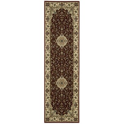 Bayhills Brick/Brown Area Rug Rug Size: Runner 2'3