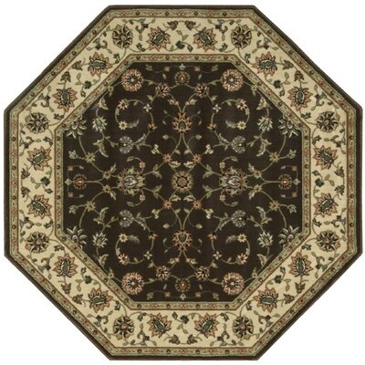 Bayhills Chocolate Area Rug Rug Size: Rectangle 53 x 75