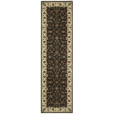 Bayhills Chocolate Area Rug Rug Size: Runner 23 x 8