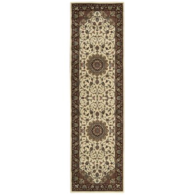 Bayhills Ivory / Brown Area Rug