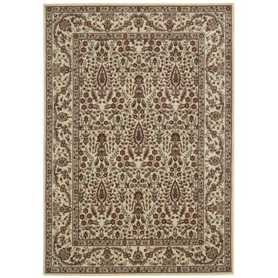 Bayhills Ivory/Rust Area Rug Rug Size: Rectangle 79 x 1010
