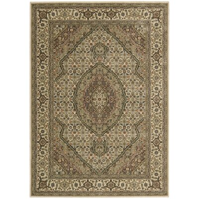 Bayhills Ivory Area Rug Rug Size: Rectangle 53 x 75