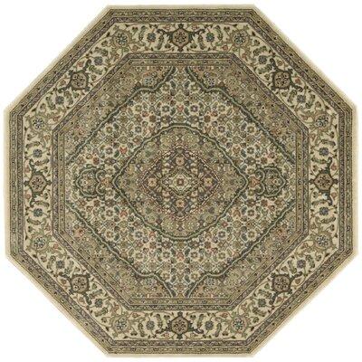 Bayhills Ivory Area Rug Rug Size: Octagon 5'3