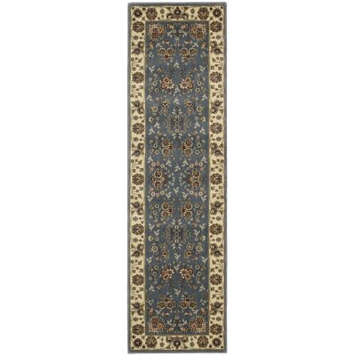 Bayhills Light Blue Area Rug Rug Size: Runner 23 x 8