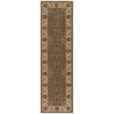 Baye Gray / Tan Area Rug Rug Size: Runner 22 x 76