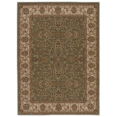 Baye Gray / Tan Area Rug Rug Size: Rectangle 53 x 74