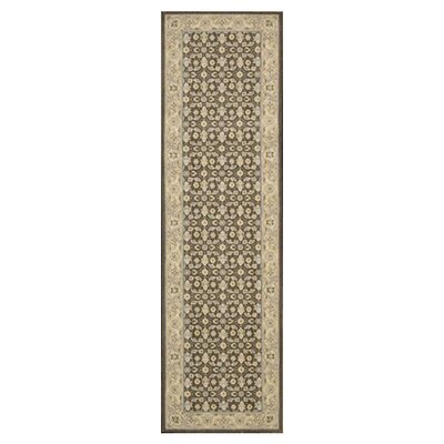 Carmorn Chocolate Area Rug Rug Size: Runner 23 x 8