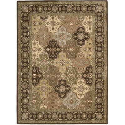 Chalda Hand-Woven Red/Beige Area Rug Rug Size: 56 x 75