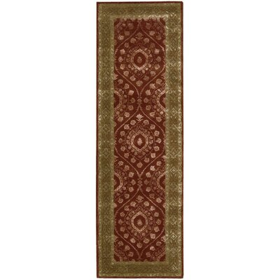 Channing Ruby Area Rug Rug Size: Runner 23 x 8