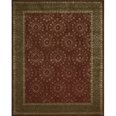Channing Ruby Area Rug Rug Size: 76 x 96