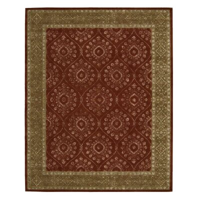 Channing Ruby Area Rug Rug Size: 8 x 11